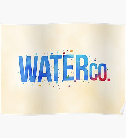 water co. Poster