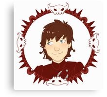 Hiccup Motif Canvas Print