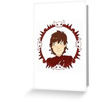 Hiccup Motif Greeting Card