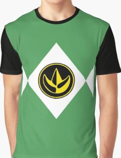 Mighty Morphin Power Rangers Green Ranger 2 Graphic T-Shirt