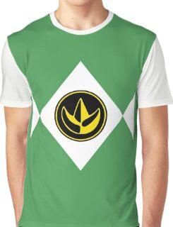 Mighty Morphin Power Rangers Green Ranger 2 Graphic T-Shirt