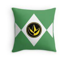 Mighty Morphin Power Rangers Green Ranger 2 Throw Pillow