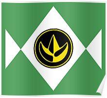 Mighty Morphin Power Rangers Green Ranger 2 Poster