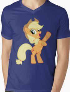 Applejack Mens V-Neck T-Shirt