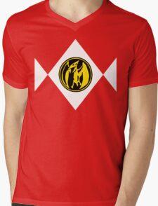 Mighty Morphin Power Rangers Pink Ranger 2 Mens V-Neck T-Shirt