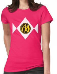 Mighty Morphin Power Rangers Pink Ranger 2 Womens Fitted T-Shirt