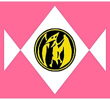 Mighty Morphin Power Rangers Pink Ranger 2 Photographic Print