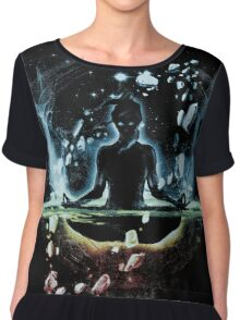 the last space bender Chiffon Top