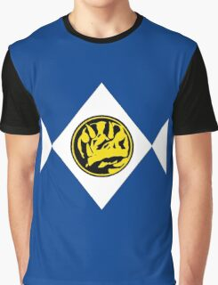 Mighty Morphin Power Rangers Blue Ranger 2 Graphic T-Shirt