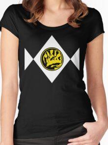 Mighty Morphin Power Rangers Blue Ranger 2 Women's Fitted Scoop T-Shirt