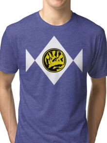 Mighty Morphin Power Rangers Blue Ranger 2 Tri-blend T-Shirt