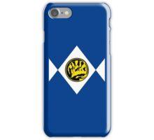 Mighty Morphin Power Rangers Blue Ranger 2 iPhone Case/Skin