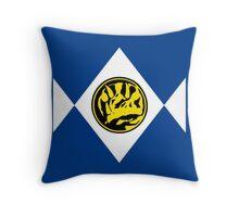Mighty Morphin Power Rangers Blue Ranger 2 Throw Pillow