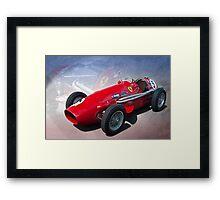 Ferrari Tipo 500 Front View Framed Print