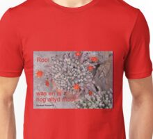 Rooi /Red Unisex T-Shirt
