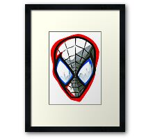 Spider-Man Design Framed Print