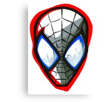 Spider-Man Design Canvas Print