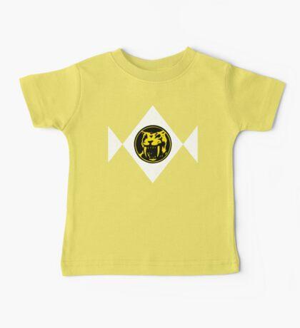 Mighty Morphin Power Rangers Yellow Ranger 2 Baby Tee