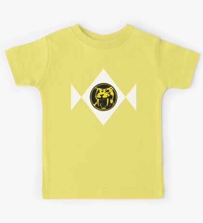 Mighty Morphin Power Rangers Yellow Ranger 2 Kids Tee