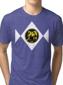 Mighty Morphin Power Rangers Yellow Ranger 2 Tri-blend T-Shirt