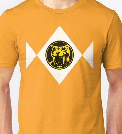 Mighty Morphin Power Rangers Yellow Ranger 2 Unisex T-Shirt