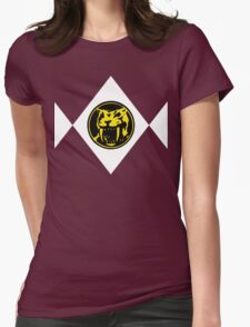 Mighty Morphin Power Rangers Yellow Ranger 2 Womens Fitted T-Shirt