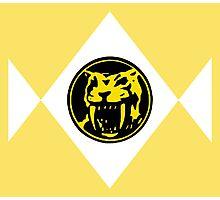 Mighty Morphin Power Rangers Yellow Ranger 2 Photographic Print