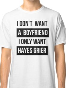 HAYES GRIER MAGCON  Classic T-Shirt