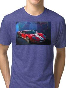 Ford GT40 Tri-blend T-Shirt