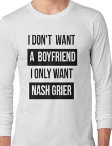 NASH GRIER MAGCON Long Sleeve T-Shirt