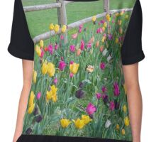 The grass may look greener on the other side of the fence, but, is it really? Chiffon Top