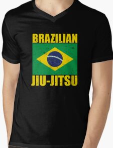 Brazilian Jiu-Jitsu (BJJ) Mens V-Neck T-Shirt