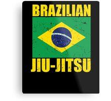 Brazilian Jiu-Jitsu (BJJ) Metal Print