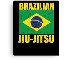 Brazilian Jiu-Jitsu (BJJ) Canvas Print