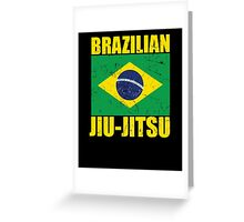 Brazilian Jiu-Jitsu (BJJ) Greeting Card