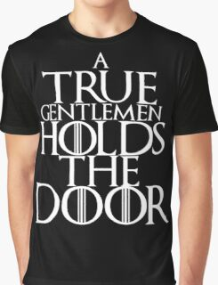 Hodor / white letters  Graphic T-Shirt