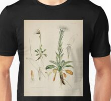The botany of the Antarctic voyage of H M  discovery ships Erebus and Terror in the Years 1839 1843 Joseph Dalton Hooker V1 096 Unisex T-Shirt
