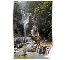 Kuang Si Falls, Luang Prabang, Laos Poster
