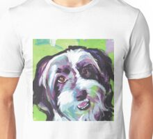 Havanese Dog Bright colorful pop dog art Unisex T-Shirt