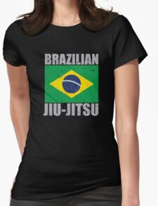 Brazilian Jiu Jitsu (BJJ) Womens Fitted T-Shirt