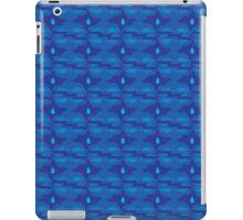 Clouds Raining Zigzag Blues iPad Case/Skin
