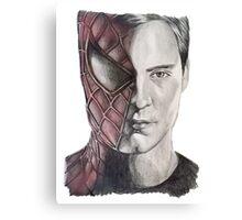 Spiderman/Peter Parker Canvas Print