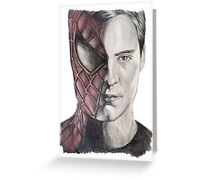 Spiderman/Peter Parker Greeting Card