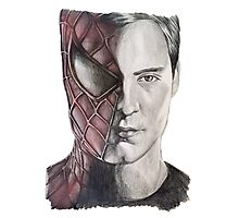 Spiderman/Peter Parker Photographic Print