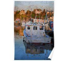 Gloucester Harbor II  Poster