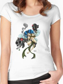 Combat Fairies: Aela Women's Fitted Scoop T-Shirt