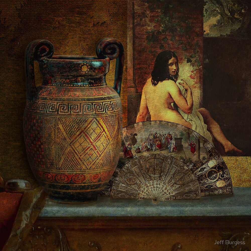 Still Life with Nude by Jeff Burgess