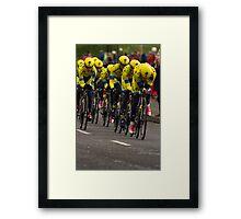 Giro d'Italia - Belfast 2014 Framed Print