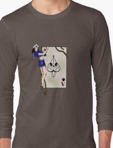 Sailor Jerry Pinup Ace of Spades Long Sleeve T-Shirt
