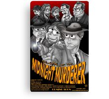 The Case of the Midnight Murderer Canvas Print